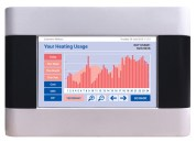Energy Billing's vThree meter heating usage screen.
