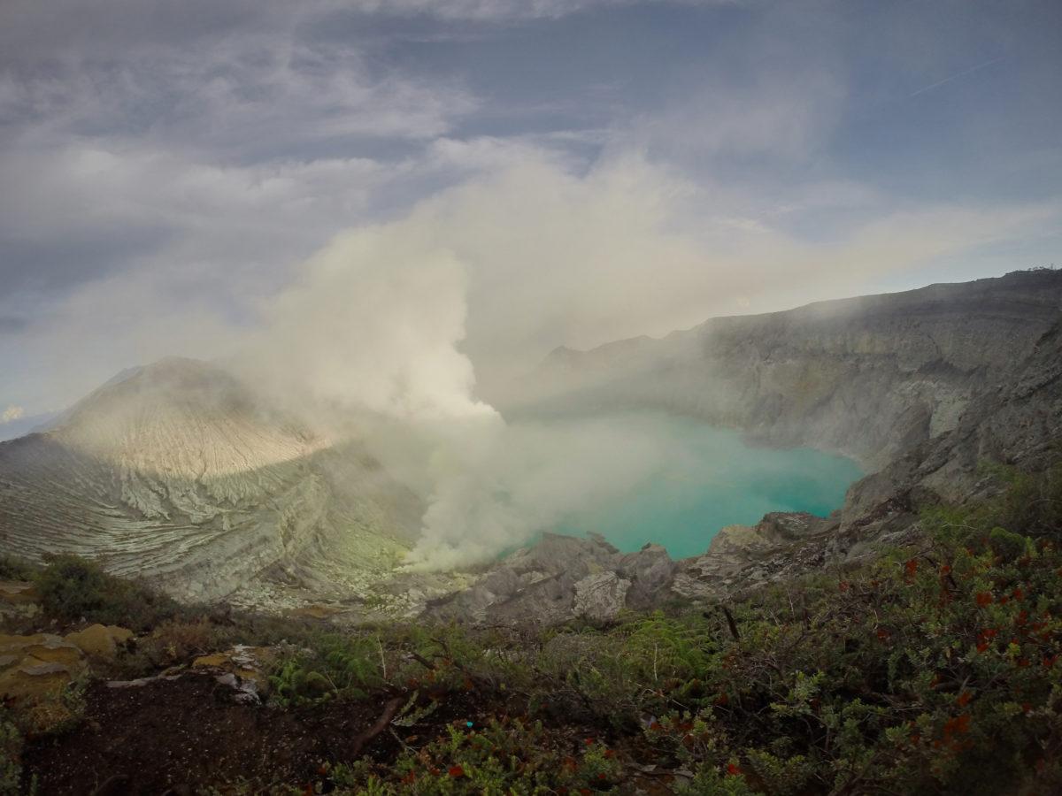 Індонезія, вулкан Іджен (Ijen)