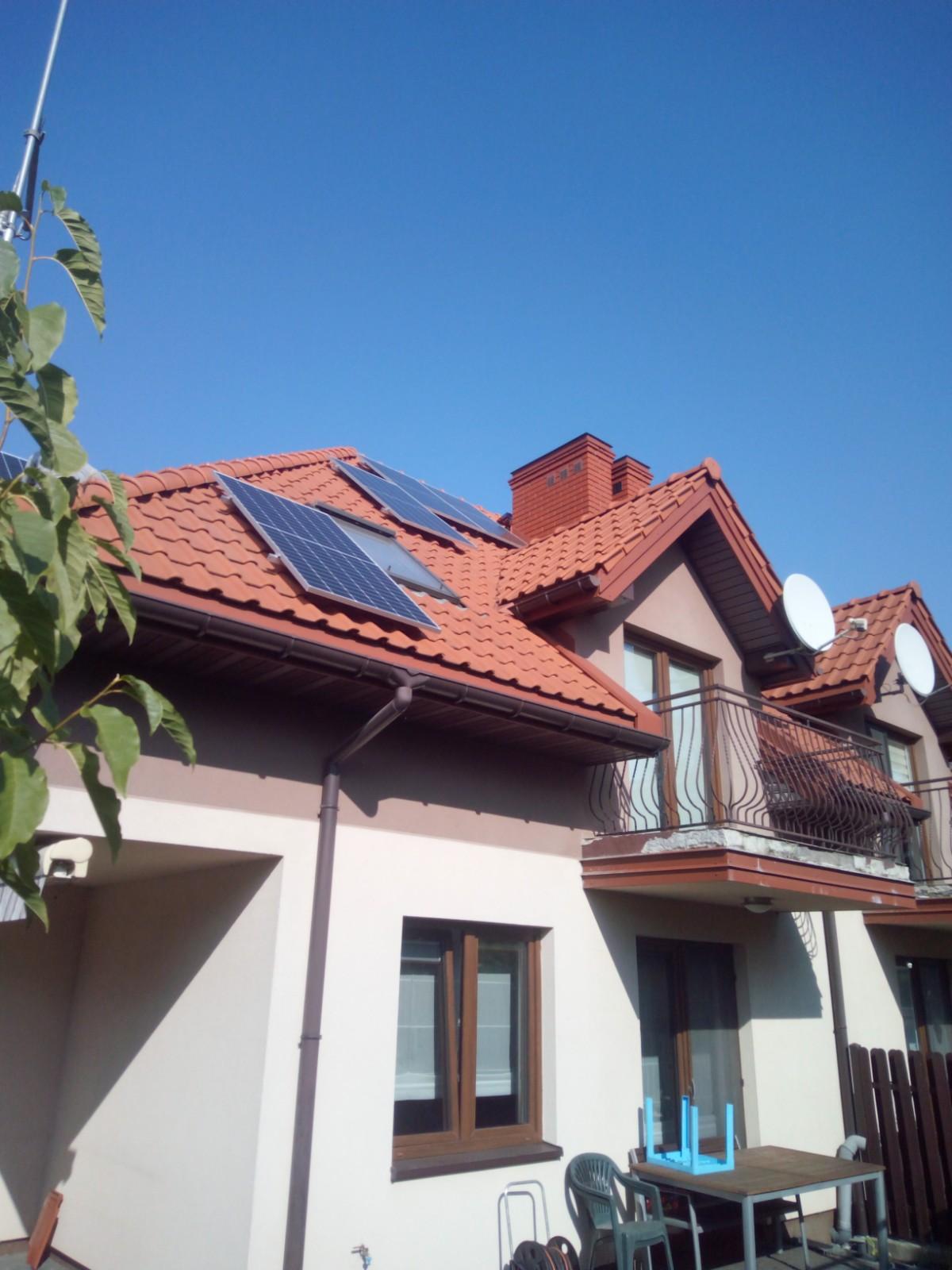 Instalacja 3.6 kW na dachu wielospadowym