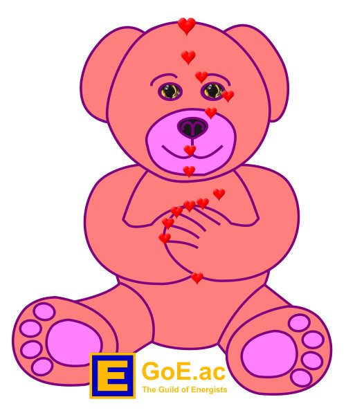 small resolution of eft pink teddy bear for kids energy eft diagram