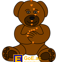 brown teddy energy eft for kids tapping points diagram high res png  [ 1000 x 1200 Pixel ]
