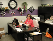 Tisha Hamilton office manager
