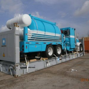 Hot Oiler Rigged For Export 2 – Energy Fabrication Odessa, TX