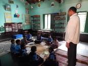 classroom in Shekigere , Karnataka