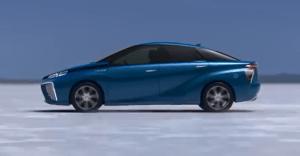 Toyota FCR das erste Auto mit Brennstoffzelle