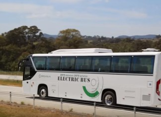 Brighsun Elektrobus Melbourne Sydney