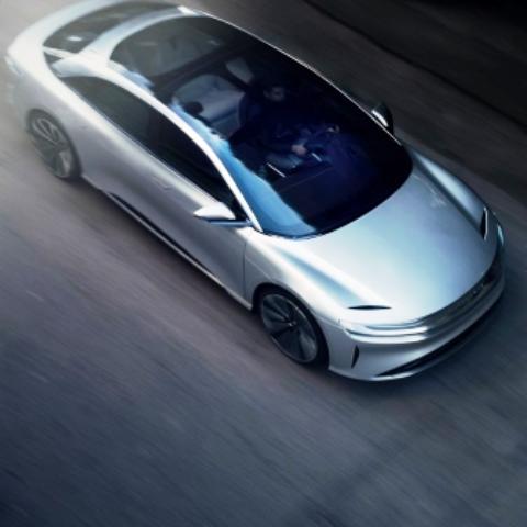 lucid motors e-auto