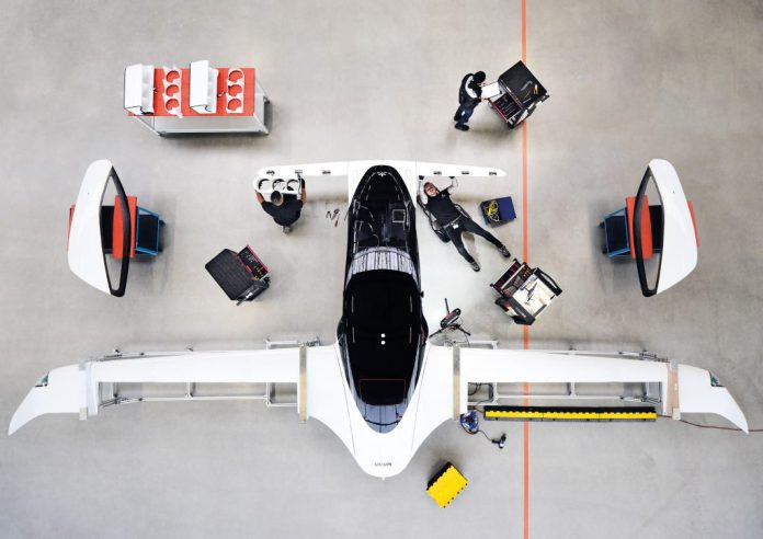 lillium-elektroflugzeug
