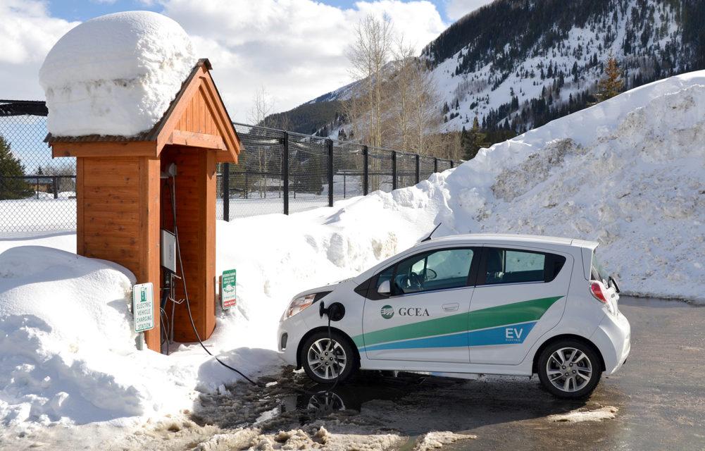 Electric car Colorado