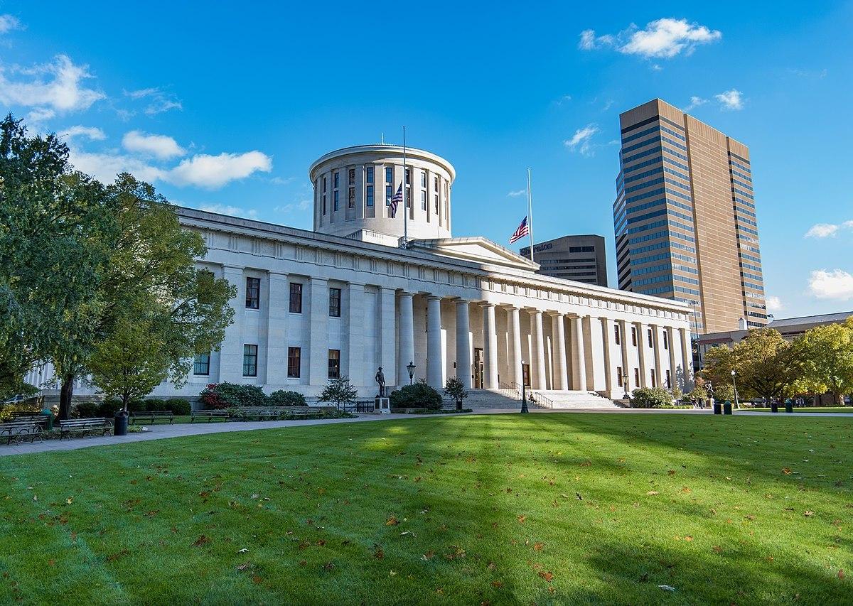 The Ohio Capitol Building.