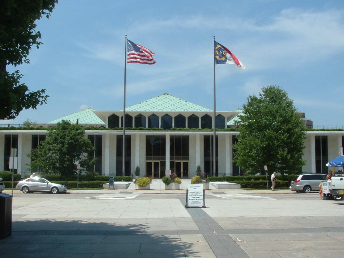 The North Carolina State Legislative Building.