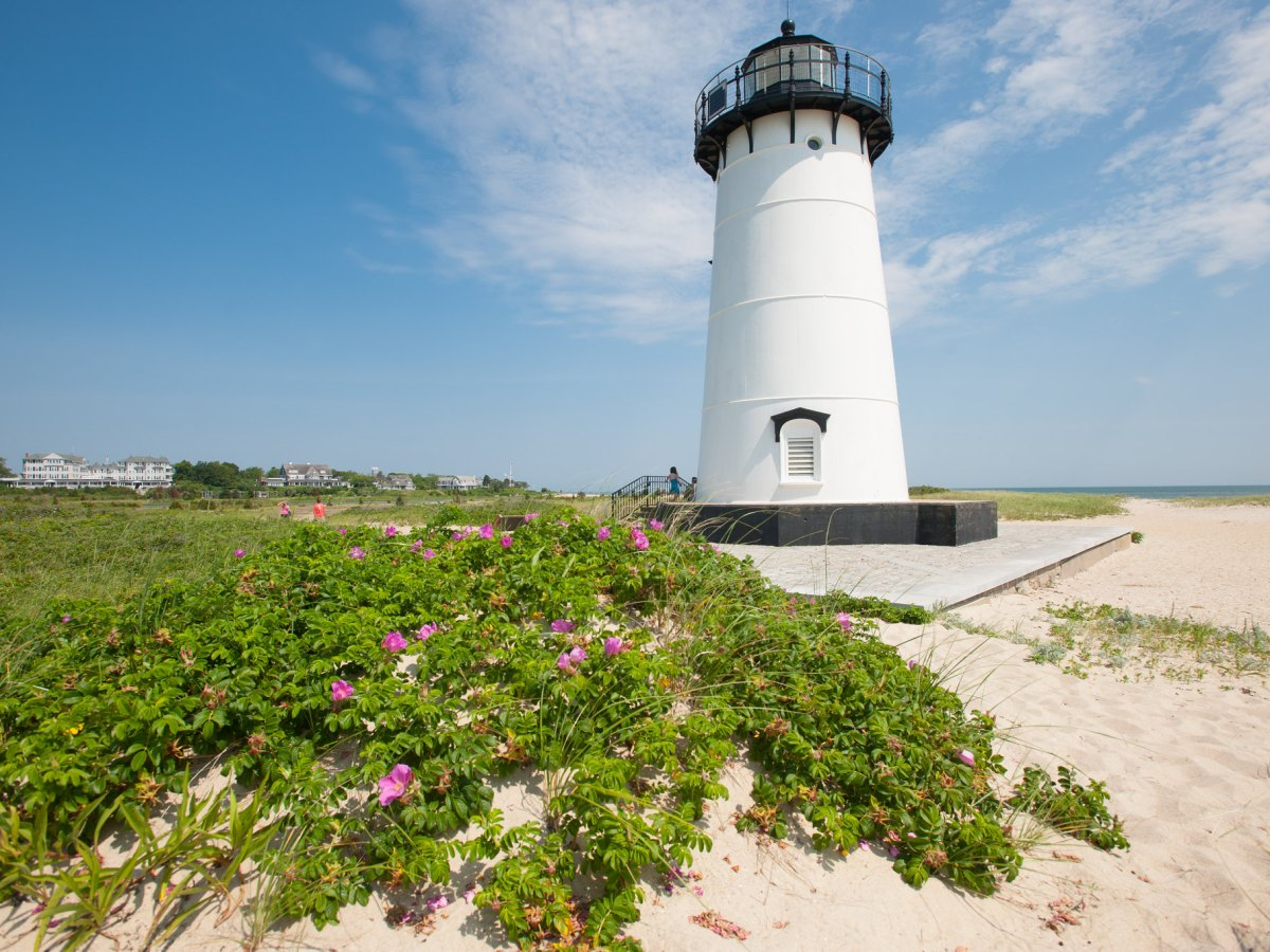 A lighthouse on Martha's Vineyard.