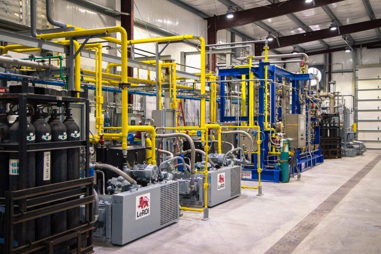Holsum Dairies' biogas facility in northeastern Wisconsin.