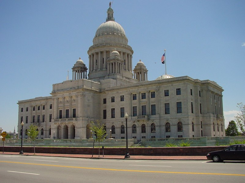The Rhode Island Capitol Building in Providence.