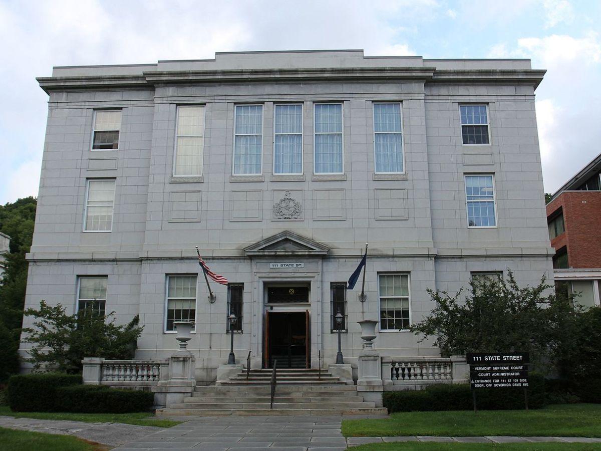 The Vermont Supreme Court building.