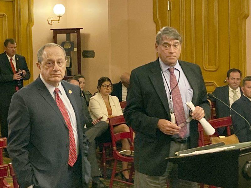 Ohio Reps. David Leland and Bill Seitz