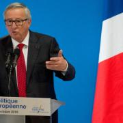 Juncker rages against the UK and Hungary
