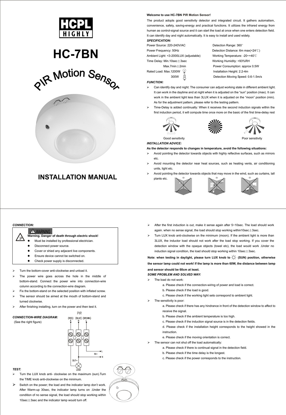 hight resolution of ceiling motion sensor wiring diagram