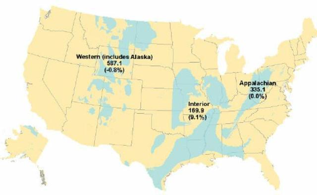coal mining regions USA