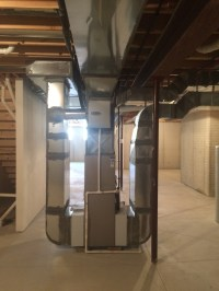 2016 Two Story With Tiny Furnace in Hinckley