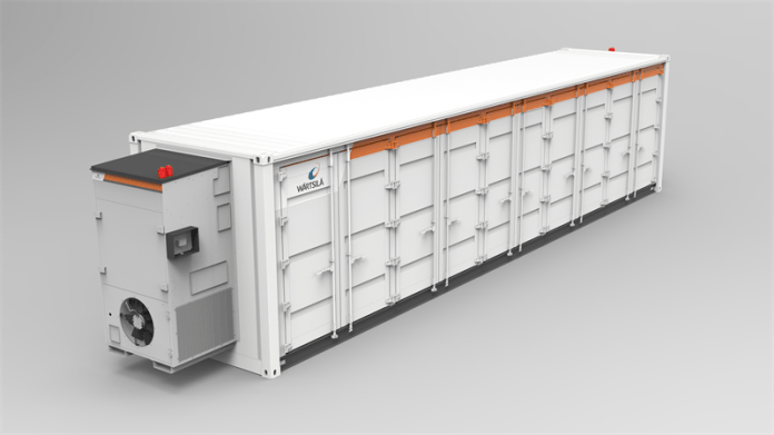 Wärtsilä Awarded Energy Storage System Order Totalling 90 MW / 90MWh From South East Asia