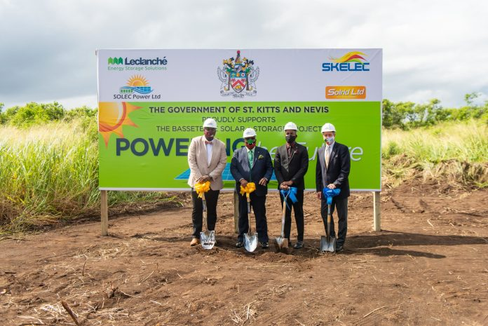 Government Of St. Kitts and Nevis, SKELEC And Leclanché Commence Construction Of Caribbean's Largest Solar Generation And Storage System