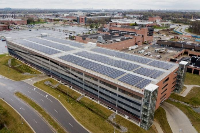 Ford Motor Company And DTE Energy Partner On New Rooftop Solar Installation And Battery Storage Technology