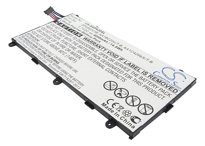 Battery AA1BC20o/T-B for SAMSUNG GT-P6200, GT-P3110, GT