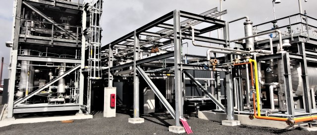 CO2 to Methanol plant