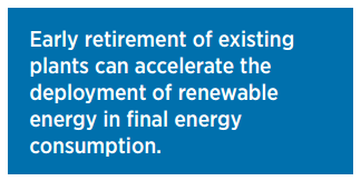 A text box from IRENA's REmap 2030.