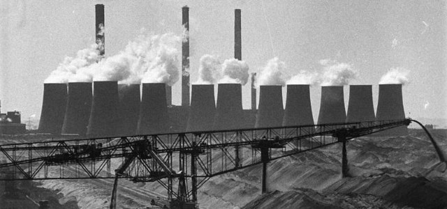 Photo of better days in the early 90s - coventional German power plants have increasing difficulties to stay profitable.