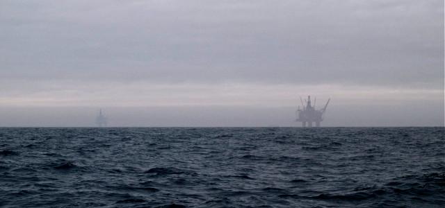 norwegian oil platform