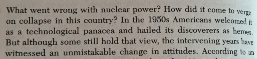 Excerpt from Mark Hertsgaard, Nuclear, Inc. (1983).