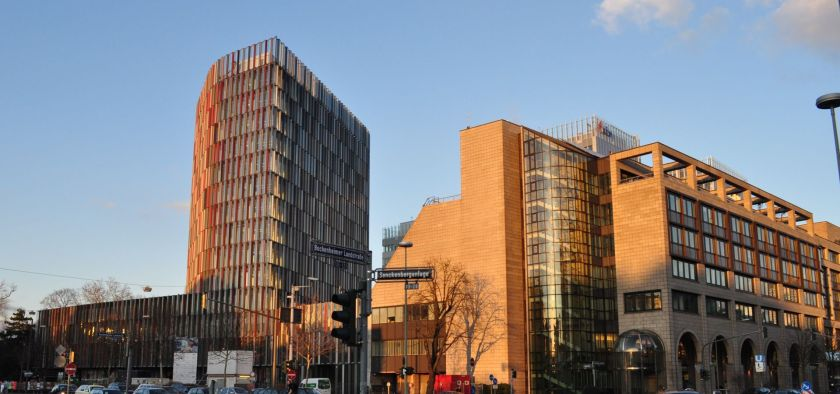 The KfW Central Office in Frankfurt, the KfW is the world's largest green tech enabler