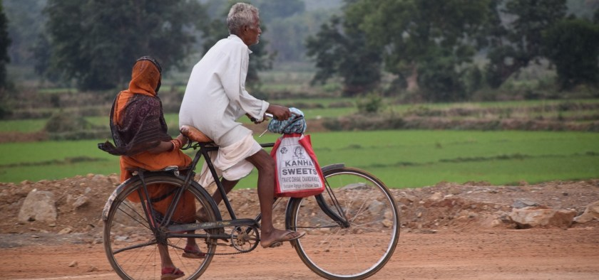 Cycling gets around the capital of India more popular