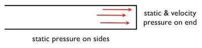 hvac static pressure and velocity pressure