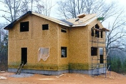 SIP structural insulated panels last two roof panels