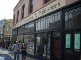 ACI 2011 San Francisco beat hangout city lights bookstore