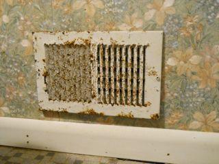 ceiling paint peeling building science mystery moisture bathroom hvac supply vent