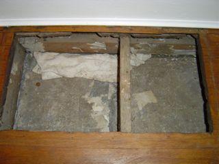 hvac duct design panned joist return leakage floor grill 2