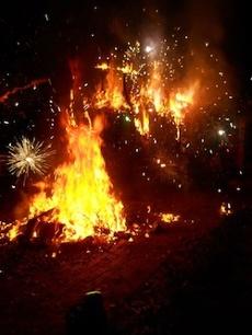 energy vanguard blog Possum Drop 2012 letsblogoff fireworks