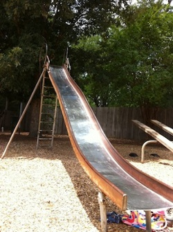 radiant barrier low e emissivity material playground slide
