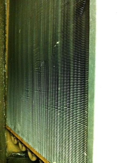 hvac air conditioner evaporator coil dirt and air flow 2