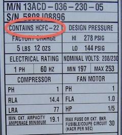 hvac air conditioner heat pump refrigerant dry ship r 22 r22