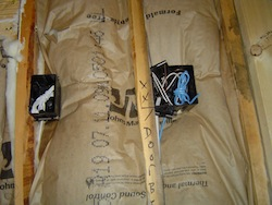 fiberglass batt insulation grade III installation quality