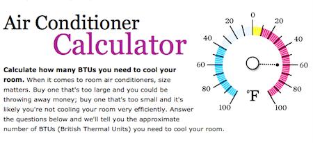 hvac design load calculation good housekeeping air conditioner calculator