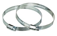 flex duct metal clamp connector