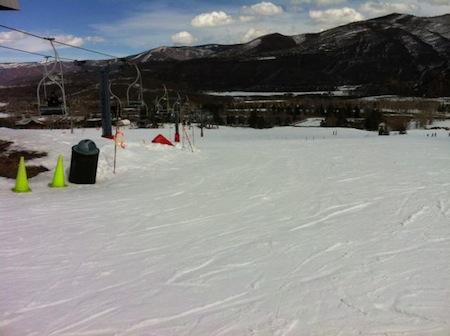 skiing buttermilk mountain colorado panda peak