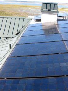 solar photovoltaic modules electric net zero energy home