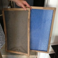 air conditioner hvac filter dirty flow cooling performance new old
